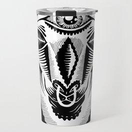 Llama King Travel Mug
