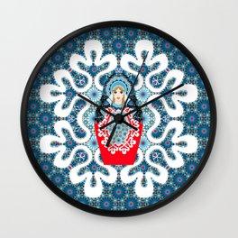 Little Matryoshka Wall Clock
