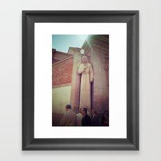 Sunday in Madrid Framed Art Print