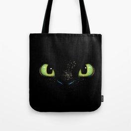 HTTYD Toothless Fiery Eyes Tote Bag