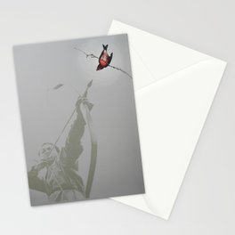 Bow and Bird Stationery Cards