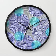 krugovi (gray) Wall Clock
