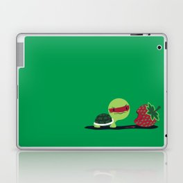 Strawberry Turtle Laptop & iPad Skin