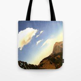 Volcan de Colima Tote Bag