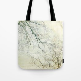 Branching in the sky Tote Bag