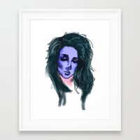 lana Framed Art Prints featuring Lana by icanbeme
