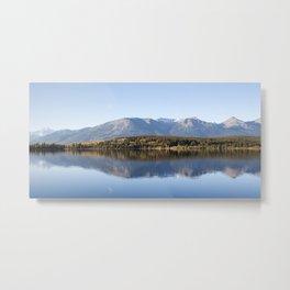 Lake Pyramid Canada Metal Print