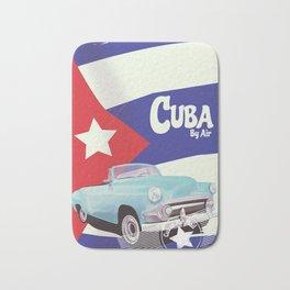 Cuba by Air Bath Mat