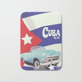 Cuba by Air Bath Mat
