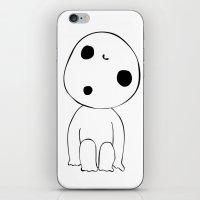 kodama iPhone & iPod Skins featuring Kodama  by Freak Clothing