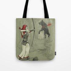 Little Red Robin Hood Tote Bag