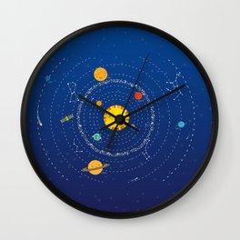Sistema solar Wall Clock