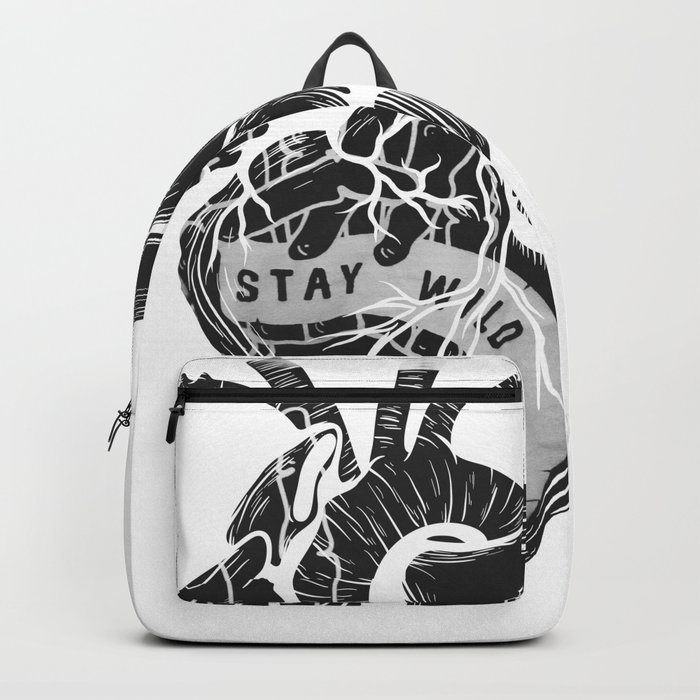 Heart (stay wild) Backpack
