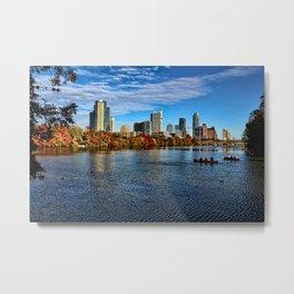 Austin Skyline From Lou Neff Point Metal Print
