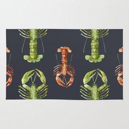 Sea Life Pattern 14 Rug