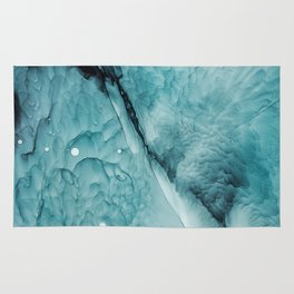 Ocean Waves Abstract Painting   Turquoise art   Sea Rug