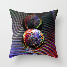 Pixelated Throw Pillow
