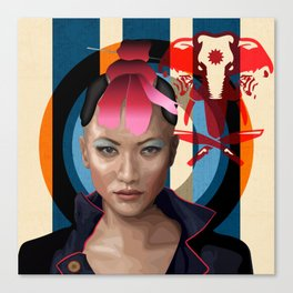 Queen of Darkness Far Cry 4 -  Yuma Canvas Print