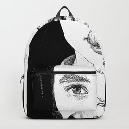 asc 228 - La Pureté (Purity is for madmen to make fools of us all) Backpack