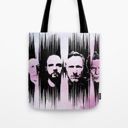 Swans - the glowing man Tote Bag