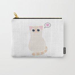 I meow you - transparent Carry-All Pouch