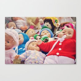 It's a Doll's Life Canvas Print
