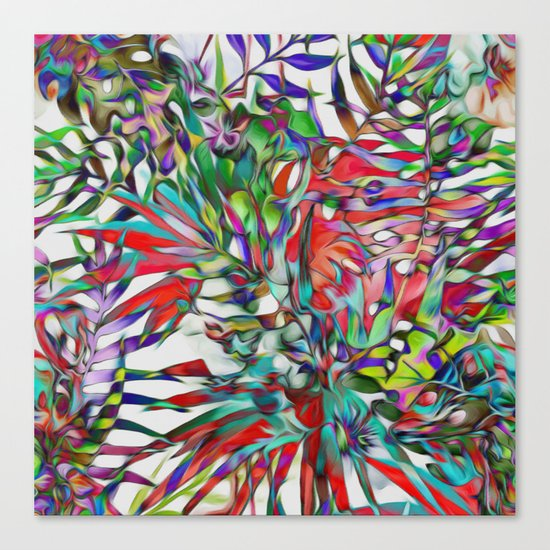 Jungle-tropics Canvas Print