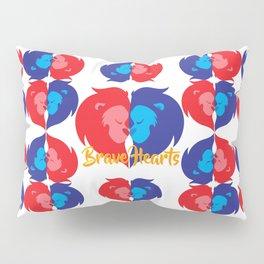 BRAVE LION HEARTS Pillow Sham