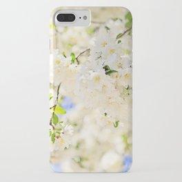 Delicate White Cherry Blossoms  iPhone Case