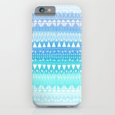 Triangle Gradient Aqua Mix iPhone 6s Slim Case