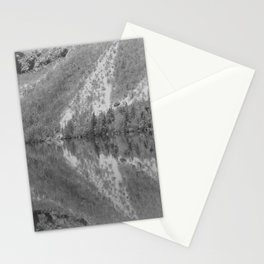 Silver Landscape At Lake Bohinj Stationery Cards
