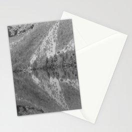 Silver Landscape At Lake Bohinj Stationery Cards