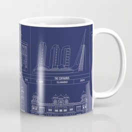 The Architecture of Pakistan Coffee Mug