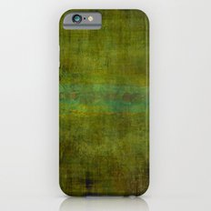 Green burrows ~ Abstract iPhone 6s Slim Case