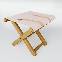 Good Peaceful Morning Folding Stool
