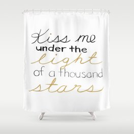 Thinking Out Loud 2 Shower Curtain
