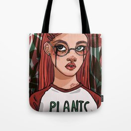 We all love plants Tote Bag