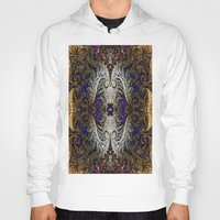 ornate Hoodies featuring Ornate by RingWaveArt