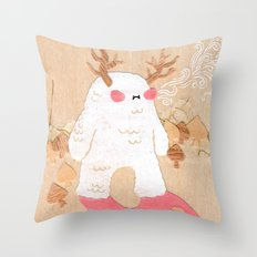 Wendigo Throw Pillow