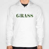 grass Hoodies featuring grass by Кaterina Кalinich