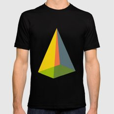 Pyramid Mens Fitted Tee SMALL Black