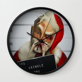 Kris Kringle: The 2 hours & 45 Minutes Before Christmas Wall Clock