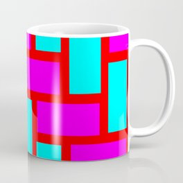 pink blue pattern Coffee Mug