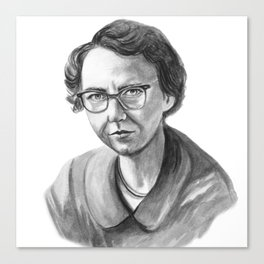 Flannery O'Connor Canvas Print