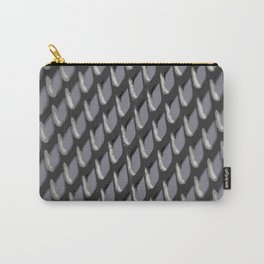 Just Grate Abstract Pattern With Heather Background Carry-All Pouch