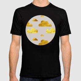 Gold Clouds T-shirt