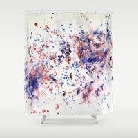 jasmine Shower Curtains featuring Jasmine Garden by Negin Khatoun