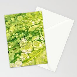 Green Water 2 Stationery Cards