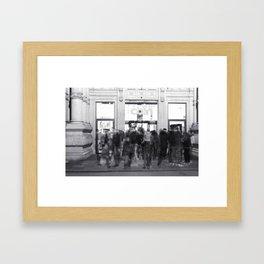 La Vasca - Ex mercato coperto, Reggio Emilia Framed Art Print