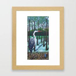 Delicate Heart Framed Art Print